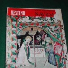 Coleccionismo de Revista Destino: REVISTA DESTINO N.1629 DEL 21 DICIEMBRE 1968 - EXTRAORDINARIO DE NAVIDAD. Lote 14019979