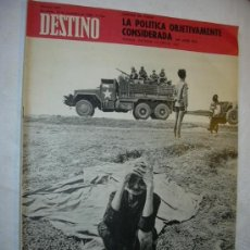 Coleccionismo de Revista Destino: REVISTA DESTINO 1624DEL 16 NOVIEMBRE 1968. Lote 26550346