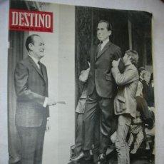 Coleccionismo de Revista Destino: REVISTA DESTINO 1622 DEL 2 NOVIEMBRE 1968. Lote 26550334