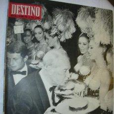 Coleccionismo de Revista Destino: REVISTA DESTINO 1618 DEL 5 OCTUBRE 1968. Lote 26485501