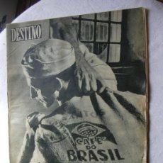 Coleccionismo de Revista Destino: REVISTA DESTINO 1015 DEL 19 ENERO 1957. Lote 26333641