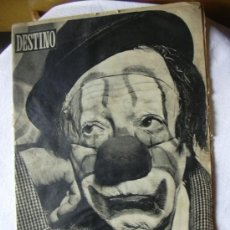Coleccionismo de Revista Destino: REVISTA DESTINO 1013 DEL 5 ENERO 1957. Lote 26333649