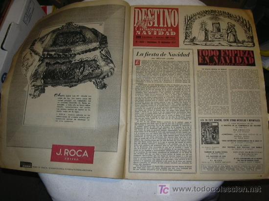 Coleccionismo de Revista Destino: Revista Destino 1063 del 21 diciembre 1957 Número extraordinario de Navidad. - Foto 2 - 26333771