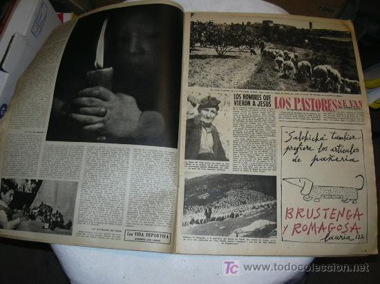 Coleccionismo de Revista Destino: Revista Destino 1063 del 21 diciembre 1957 Número extraordinario de Navidad. - Foto 3 - 26333771