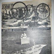 Coleccionismo de Revista Destino: REVISTA DESTINO * Nº 886 * AÑO 1954. Lote 27454628