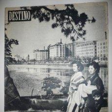 Coleccionismo de Revista Destino: REVISTA DESTINO * Nº 867 * AÑO 1954. Lote 27454630