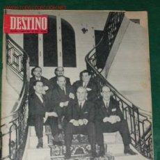 Coleccionismo de Revista Destino: REVISTA DESTINO N.1379 DEL 11 ENERO 1964. Lote 15760199