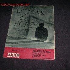 Coleccionismo de Revista Destino: REVISTA DESTINO 1158 DEL 17 OCTUBRE 1958. Lote 26333816