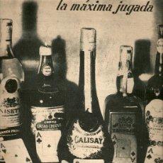 Coleccionismo de Revista Destino: AÑO 1949 BELENES DESTILERIAS MOLLFULLEDA CALISAY CALIXTUS CASTELLBLANCH PINTURA MUERTE JAMES ENSOR. Lote 10734886