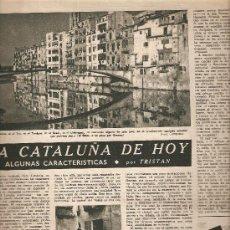 Coleccionismo de Revista Destino: AÑO 1947 CHURCHILL CARACTERISTICAS DE LA CATALUÑA DE HOY GERONA GIRONA REUS COÑAC TERRY. Lote 10761052