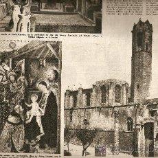 Coleccionismo de Revista Destino: REVISTA.AÑO 1957.LA CAPILLA DE SANTA AGUEDA.MALLORCA.PLA.TURISMO.CAPEAS,STA.CARLES RAPITA.PREM.NADAL. Lote 10890005