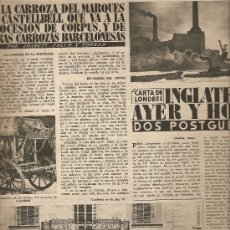 Coleccionismo de Revista Destino: AÑO 1955 CARROZAS MARQUES DE CASTELLBELL ALFARRAS CORPUS EXTREMADURA PLASENCIA BALAGUER. Lote 11045208