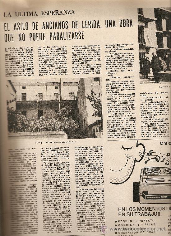 Coleccionismo de Revista Destino: AÑO 1968 SERRAT EUROVISION ASILO LLEIDA MALLORCA CUEVAS TORRE CANYAMEL DELIBES ERMENGOL PASSOLA - Foto 2 - 11143040