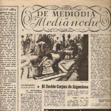 Coleccionismo de Revista Destino: AÑO 1954 CORPUS ARGENTONA ALFOMBRAS DE FLORES MONTJUICH VERBENAS JOAN MIRO MARIUS TORRES. Lote 11469591