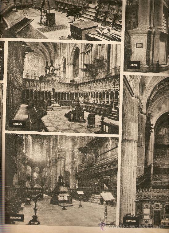 Coleccionismo de Revista Destino: 1958 CORO CATEDRAL BCNA TOLEDO SEVILLA MALAGA ARGENTONA CORPUS FLAMENCO LA CHUNGA HERMAN MELVILLE - Foto 2 - 11593542