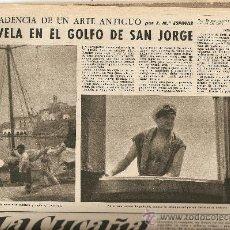 Coleccionismo de Revista Destino: REVISTA.AÑO 1958.FRANCIA CRISIS.FESTIVAL DE SAN SEBASTIAN DE CINE.VELA.MALLORCA.ATLETISMO.LOURDES.. Lote 11603891