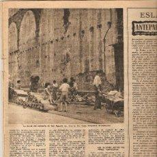Coleccionismo de Revista Destino: AÑO 1953 EL JUEGO DE LA PELOTA TOTXO FUTBOL CHARTREUSE II CONGRESO DE POESIA CAZA MAYOR BALLENAS. Lote 11605193