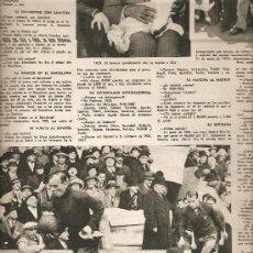 Coleccionismo de Revista Destino: REVISTA.AÑO 1955.SARDANISTAS.YER.RICARDO ZAMORA.GERONA.CONCHA ESPINA.HOCKEY PATINES.. Lote 11608106