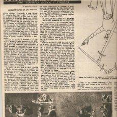 Coleccionismo de Revista Destino: 1955 PINTURA ROMANICO BOHI SALA ARGEMI CONDE EGARA CAP CREUS CALLE BALMES BURROS HISTORIA BICICLETA. Lote 11608558
