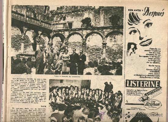 Coleccionismo de Revista Destino: AÑO 1955 ANTONIO GAUDI ESCULTOR VIRGEN DEL PUERTO EXTREMADURA TARREGA BALAGUER CANARIAS TAPIES - Foto 2 - 11609198