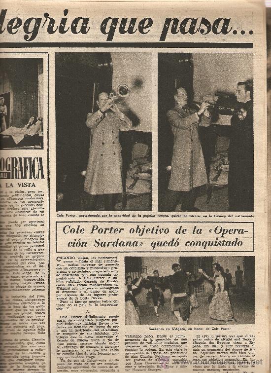 Coleccionismo de Revista Destino: REVISTA.AÑO 1955.SARDANAS EN VALENCIA.RAMON SUNYER CLARA.VERGES.A.PEDRO PONS.S.BADIA.SARDANA. - Foto 2 - 11617895