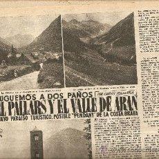 Coleccionismo de Revista Destino: AÑO 1955 EL PALLARS Y EL VALLE DE ARAN VIGIA DE MONTJUICH PINET TAUROFILIA SAN JUAN DE LAS ABADESAS. Lote 11619876