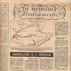 Coleccionismo de Revista Destino: AÑO 1953 COMUNICACIONES EN EL MOTNEGRE EL CIRCO VICENTE ALEIXANDRE DOCE VENTRILOQUIA LLOVET C PIQUER. Lote 11621406
