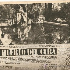 Coleccionismo de Revista Destino: AÑO 1955 HUERTO DEL CURA ELCHE CRUCERO GUADALUPE NARCIS OLLER R FOLCH PINTURA SAN IGNACIO DEPORTES. Lote 11634253
