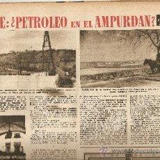 Coleccionismo de Revista Destino: AÑO 1952 LAS RAMBLAS EMPORDA PETROLEO PREMIO JOANOT MARTORELL JOSEP PLA LOS ISOSTEROS TUBERCULOSIS. Lote 11641105