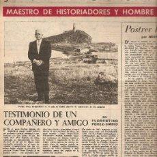 Coleccionismo de Revista Destino: AÑO 1960 VALENCIA TRIBUNAL DE LAS AGUAS TERRASSA TALLERES EMAUS HERMITA DE BELLVITGE VICENS VIVES. Lote 11642062