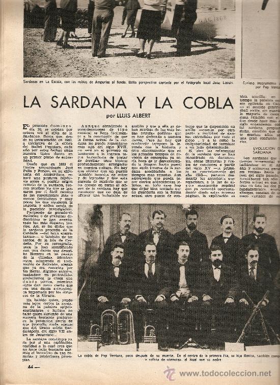 Coleccionismo de Revista Destino: AÑO 1967 CALELLA FRESAS LA GOMERA ARRABAL FLOTATS TEATRO JOAN TEIXIDOR LA SARDANA Y LA COBLA BEATLES - Foto 4 - 11684209