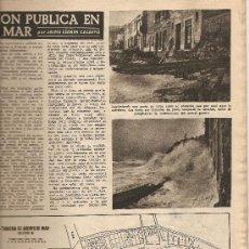 Collectionnisme de Magazine Destino: 1955 LUIS CARRERAS FEDERICO MARES ESCULTURA NUMISMATICA CALLE MONCADA ARENYS DE MAR COLECCION CAMBO. Lote 11687314