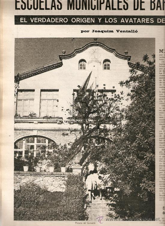 1967 LOS XUETAS OLOT VOLCAN TENERIFE ESCUELAS MUNICIPALES BCNA MANUEL ORTINEZ A MARTORELL S ESPRIU (Coleccionismo - Revistas y Periódicos Modernos (a partir de 1.940) - Revista Destino)