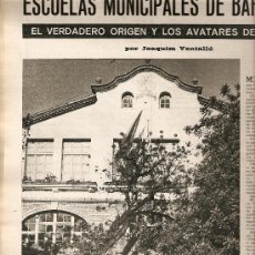 Coleccionismo de Revista Destino: 1967 LOS XUETAS OLOT VOLCAN TENERIFE ESCUELAS MUNICIPALES BCNA MANUEL ORTINEZ A MARTORELL S ESPRIU. Lote 11710369