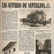 Coleccionismo de Revista Destino: REVISTA.AÑO 1957.TRAJES ANTIGUOS.M.ROCAMORA.FELANITX.SANTILLAN Y ASTURIAS.TOSSA DE MAR.W.MUCHA.. Lote 11722023