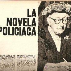 Coleccionismo de Revista Destino: AÑO 1971 ESPECIAL LA NOVELA POLICIACA AGHATA CHRISTIE REGLAS VAN DINE SHERLOCK HOLMES DETECTIVE CINE. Lote 11760491