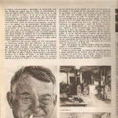 Coleccionismo de Revista Destino: REVISTA.AÑO 1970.CORBERO.A.TRIAS I PUJOL.INVOLCAS.JOAN SERRA.SONY.FLOID.. Lote 11763951