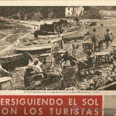 Coleccionismo de Revista Destino: REVISTA.AÑO 1959.TURISMO.COSTA BRAVA.V.RODES.P.GABARRO.IGUALADA.POND'S.TREVIRA.. Lote 11830515