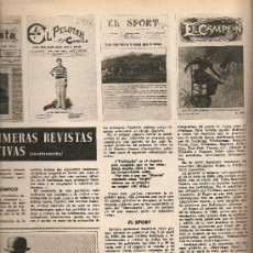 Colecionismo da Revista Destino: 1966 MARIA JUST ABAD MONTSERRAT REVISTAS DEPORTIVAS LAVIANA ASTURIAS VENDRELL MUSEO SETZE JUTGES. Lote 11871908