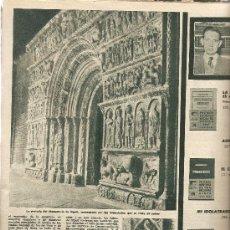 Coleccionismo de Revista Destino: AÑO 1960 LUCIEN MAMET AVIADOR AGUA MAESTRAZGO ROMANICO PUERTA MONASTERIO RIPOLL PASTORETS VALLS. Lote 11971852