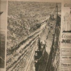 Coleccionismo de Revista Destino: REVISTA.AÑO 1942.EL MUNDO Y LA POLITICA.SUECIA.FOTOS GUERRA MUNDIAL.EXPOSICIOMES.. Lote 12028115