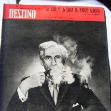 Coleccionismo de Revista Destino: REVISTA DESTINO 1688 DEL 7 FEBRERO 1970. Lote 26586677