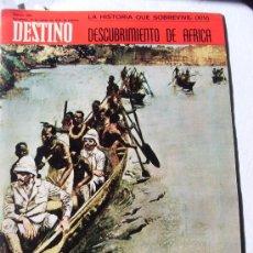 Coleccionismo de Revista Destino: REVISTA DESTINO 1693 DEL 14 MARZO 1970. Lote 26751190