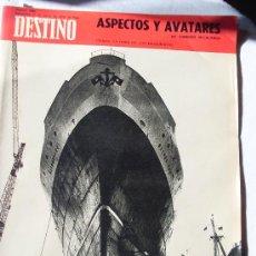 Coleccionismo de Revista Destino: REVISTA DESTINO 1694 DEL 21 MARZO 1970. Lote 26751192