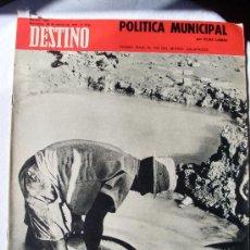 Coleccionismo de Revista Destino: REVISTA DESTINO 1695 DEL 28 MARZO 1970. Lote 26751197