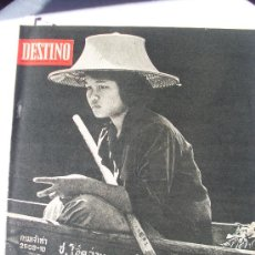 Coleccionismo de Revista Destino: REVISTA DESTINO 1714 DEL 8 AGOSTO 1970. Lote 26871350