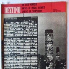 Coleccionismo de Revista Destino: REVISTA DESTINO 1727 DEL 7 NOVIEMBRE 1970. Lote 26961444