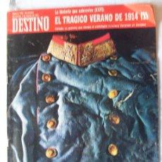 Coleccionismo de Revista Destino: REVISTA DESTINO 1766 7 AGOSTO 1971.. Lote 27264077