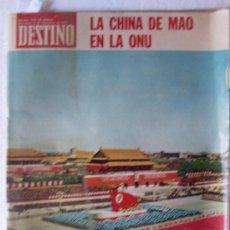 Coleccionismo de Revista Destino: REVISTA DESTINO 1779 6 NOVIEMBRE 1971.. Lote 27355683
