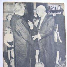 Coleccionismo de Revista Destino: REVISTA DESTINO Nº 963. Lote 25156326